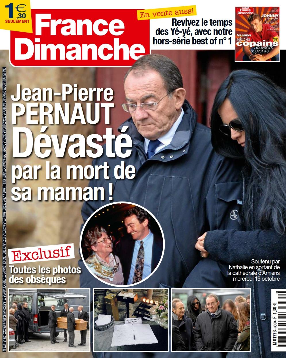 France Dimanche 3660 - 21 au 27 Octobre 2016