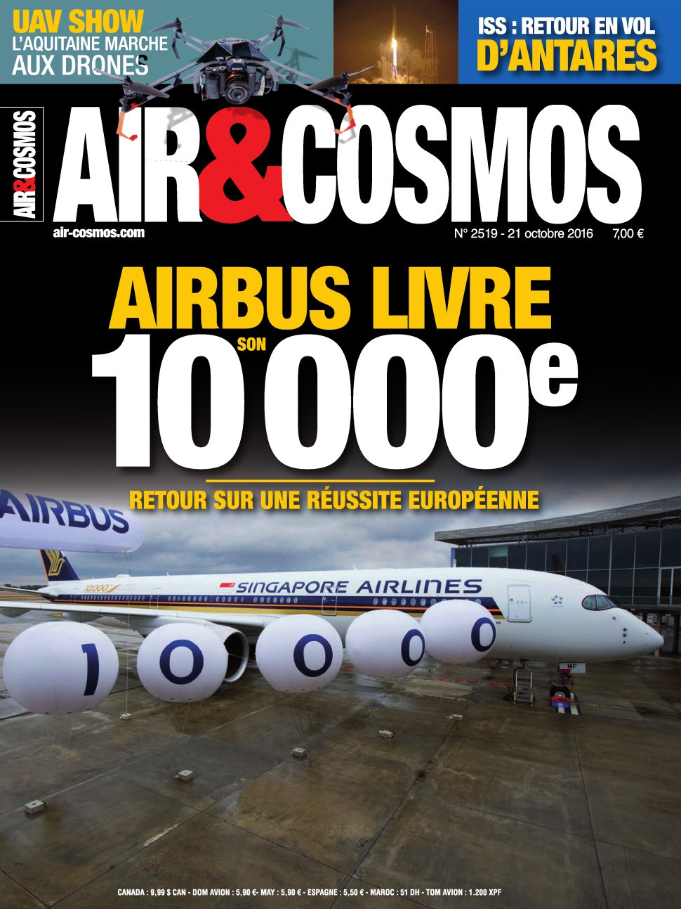Air et Cosmos N°2519 - 21 Octobre 2016