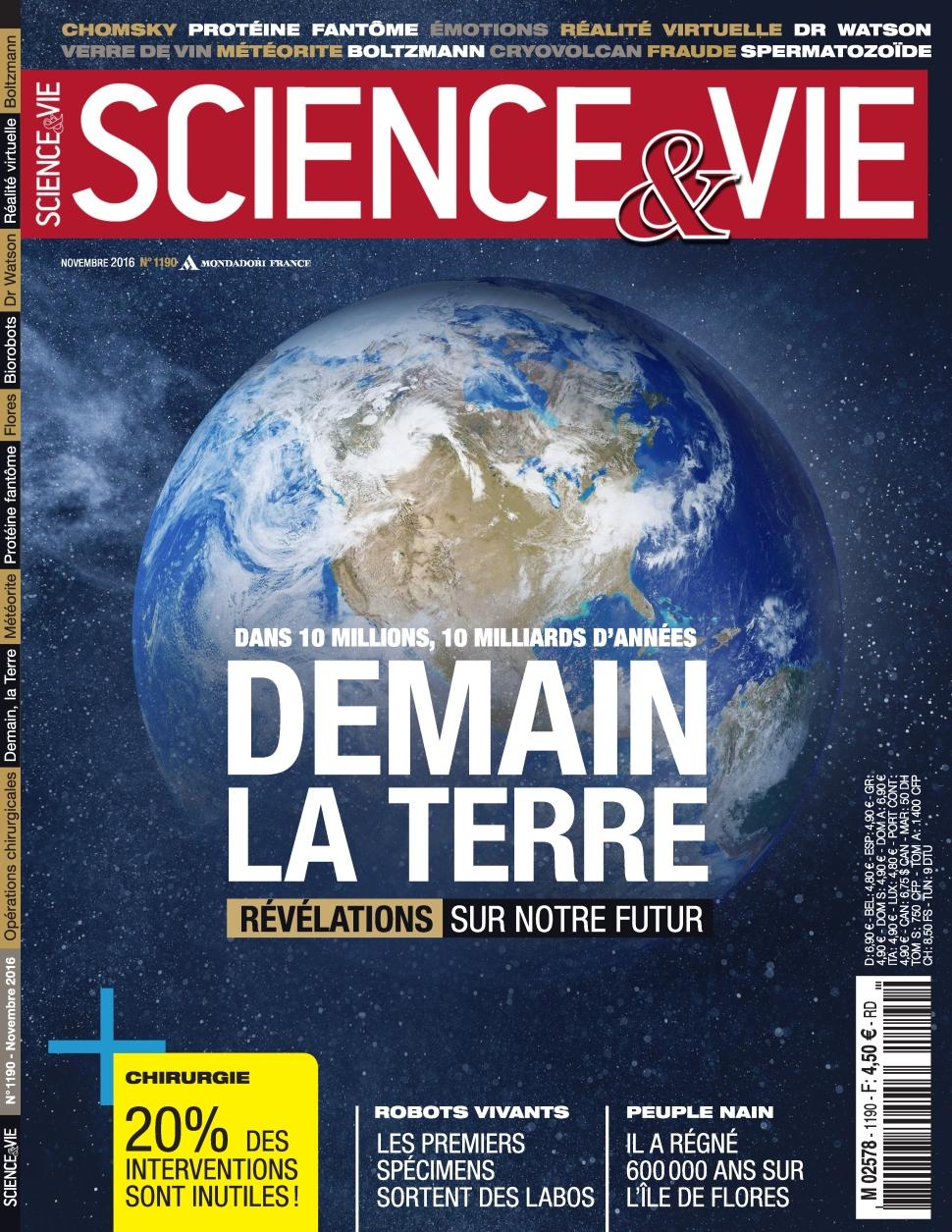 Science & Vie N�1190 - Novembre 2016