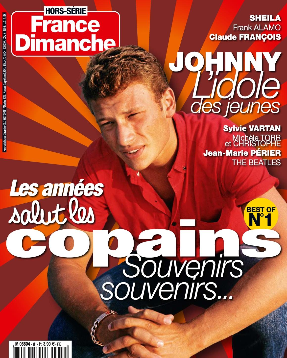 France Dimanche HS 1 - Les Années Salut Les Copains 2016