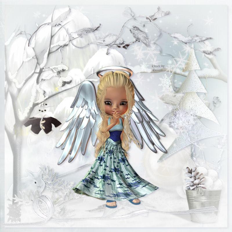 el angel de lanavidad