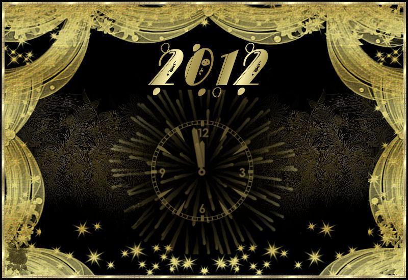 2012 Entra el Nuevo Año