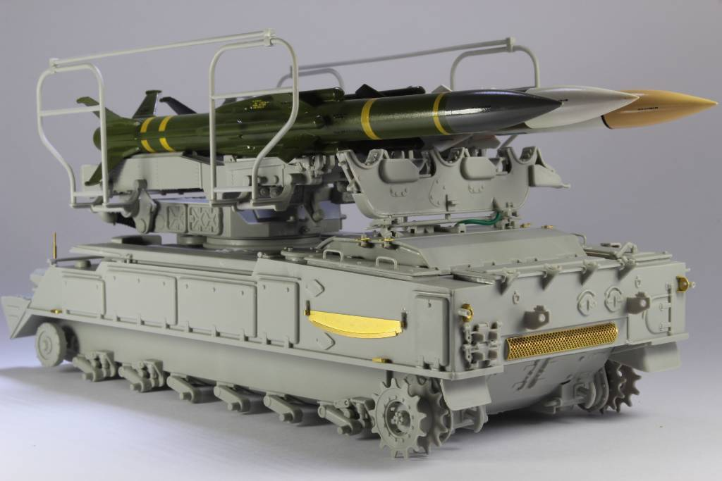 Montage Russia SA-6 Gainful ( 2K12 Kub ) Trumpeter 1/35 16102901053775708