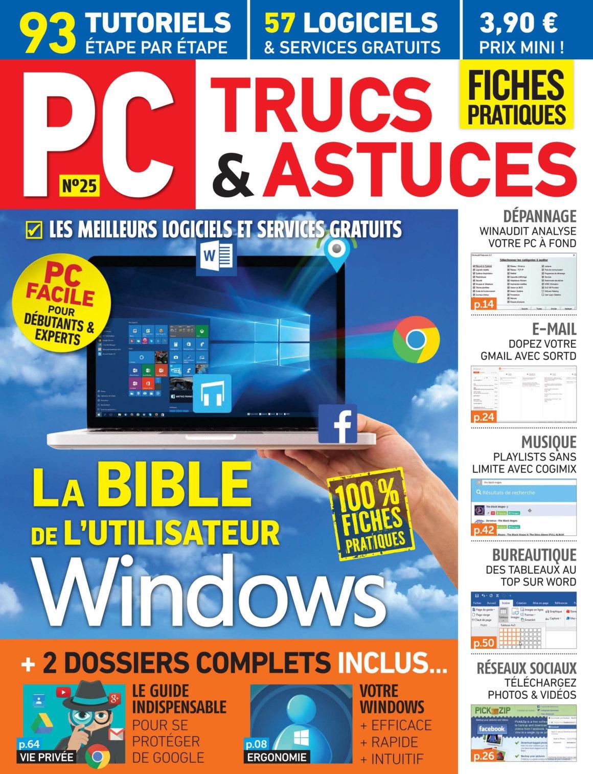 PC Trucs et Astuces N°25 - Novembre/Décembre 2016