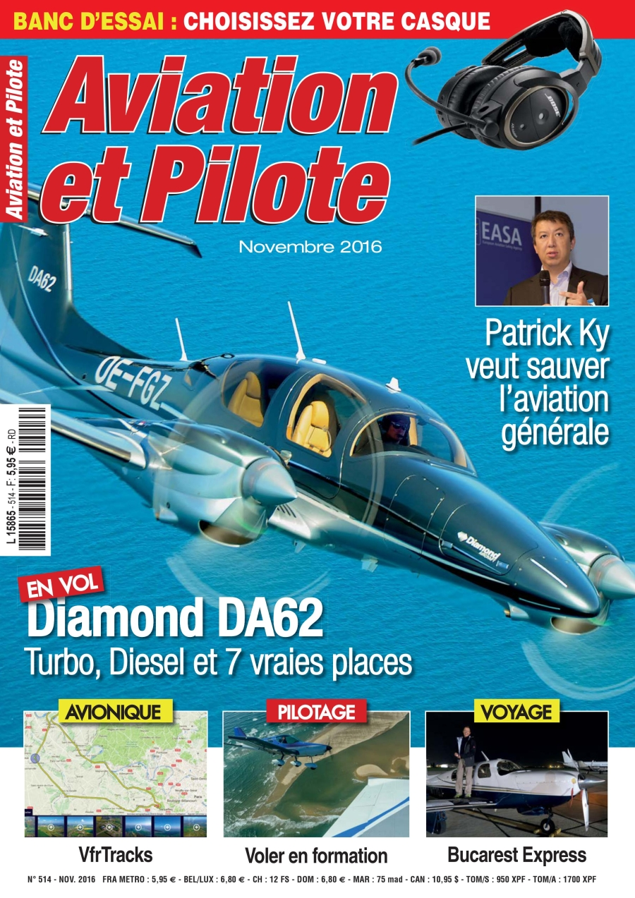 Aviation et Pilote 514 - November 2016