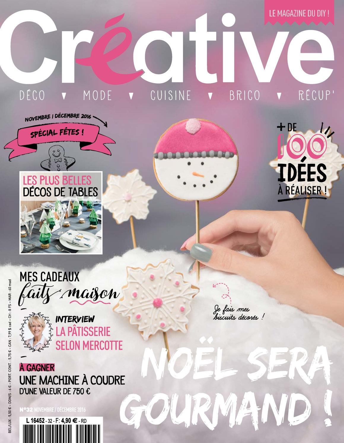 Créative 32 - Novembre/Décembre 2016