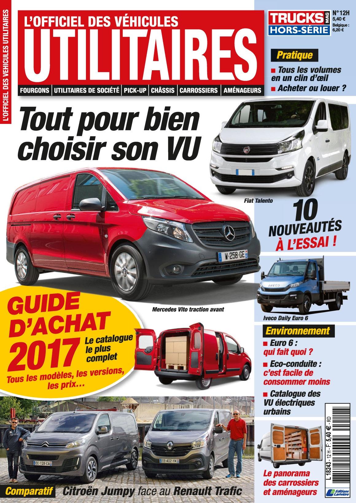 Trucks Mag Hors Série N°12 - Guide D achat 2017