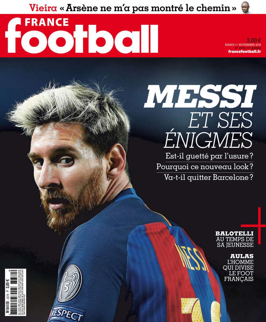 France Football N°3679 - 01 Novembre 2016
