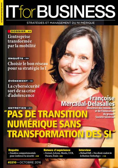 IT for Business 2210 - Octobre 2016