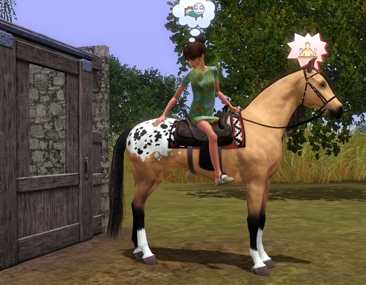 """[Challenge] Teens and Horses """"Sims 3"""" - Page 2 161102043737665777"""