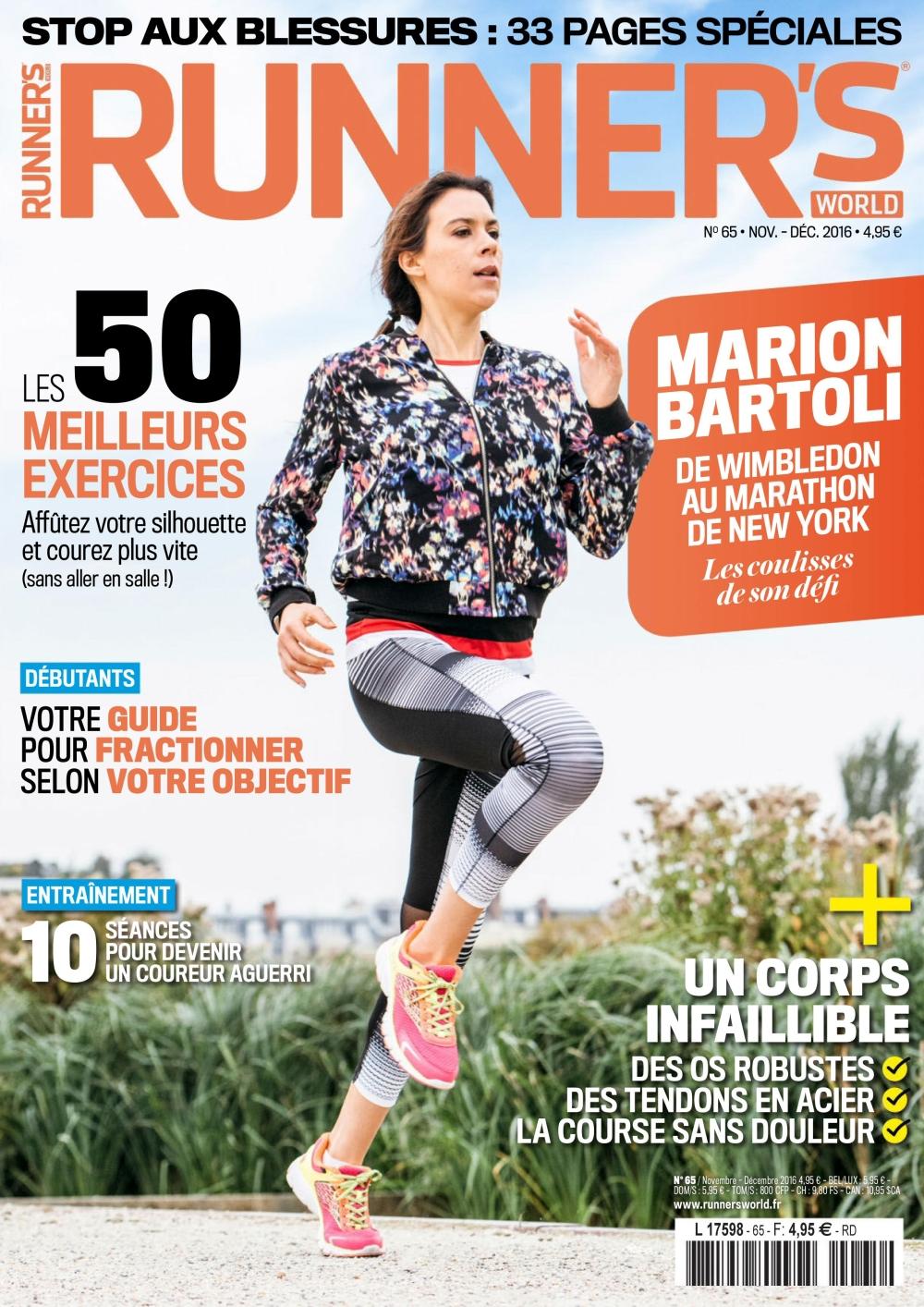Runner s World N°65 - Novembre/Décembre 2016
