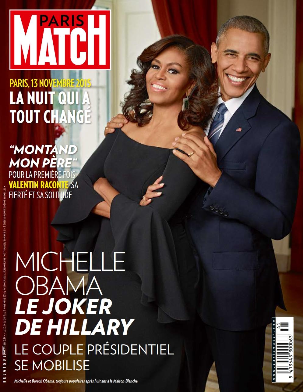 Paris Match Belgique 791 - 03 au 09 Novembre 2016