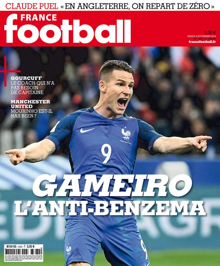 France Football N°3680 - 08 Novembre 2016