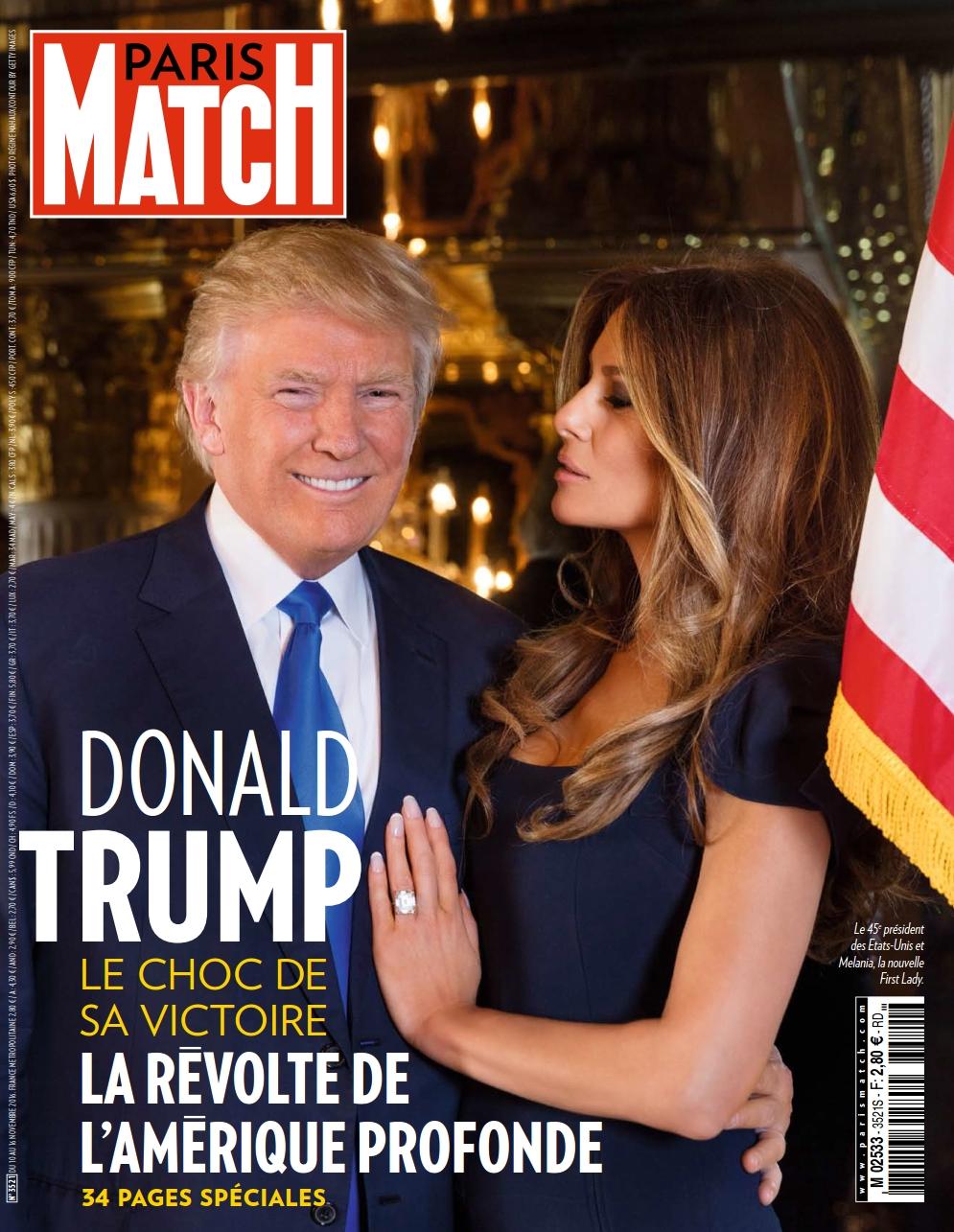 Paris Match 3521 - 10 au 16 Novembre 2016