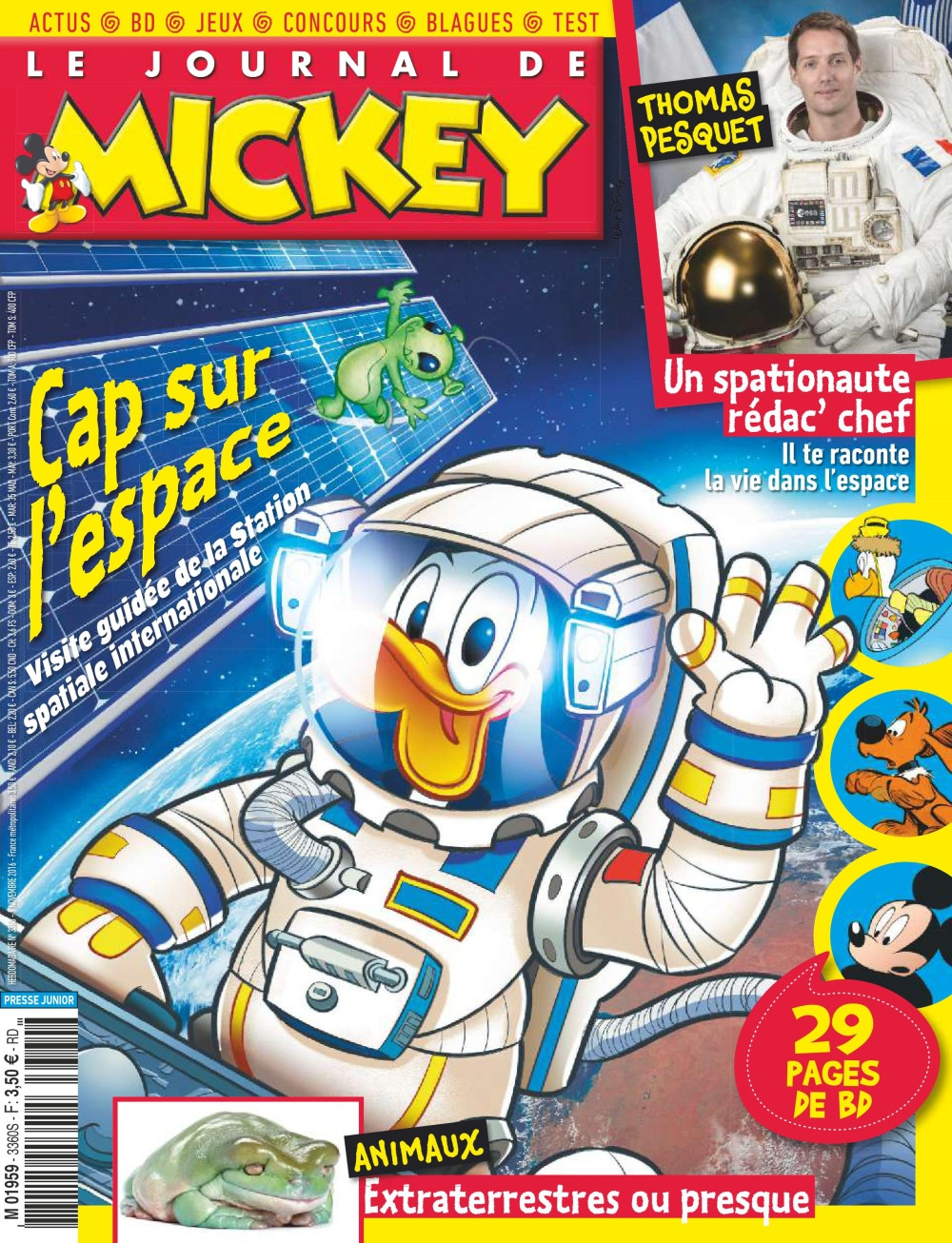 Le Journal de Mickey N°3360 - 09 Novembre 2016