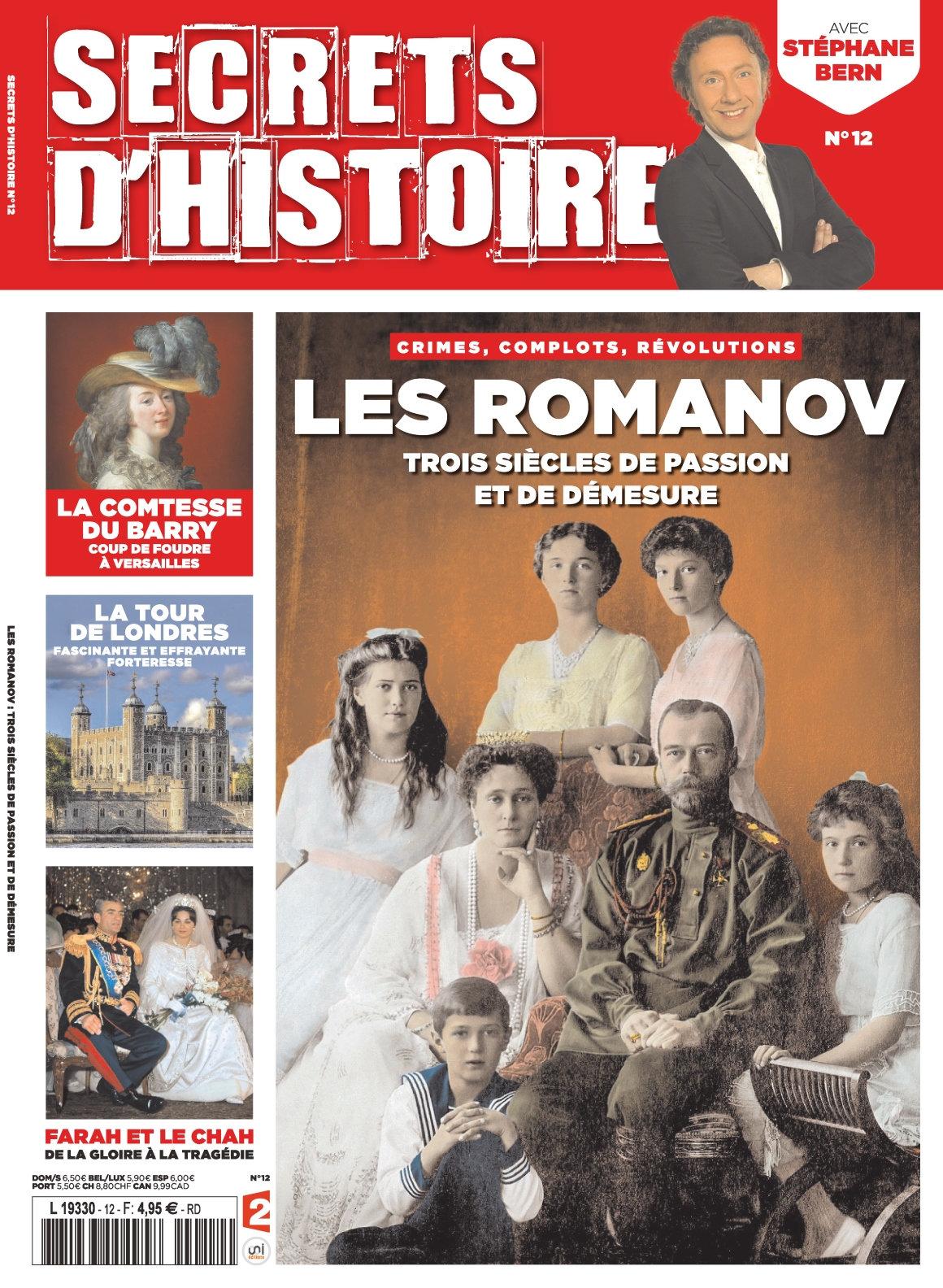 Secrets d'Histoire 12 - Novembre 2016/Janvier 2017