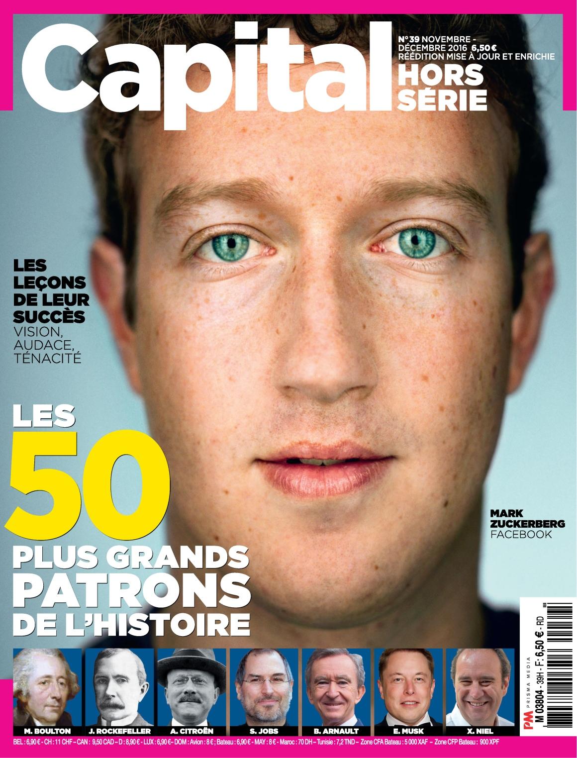 Capital Hors-Série N°39 - Novembre/Décembre 2016