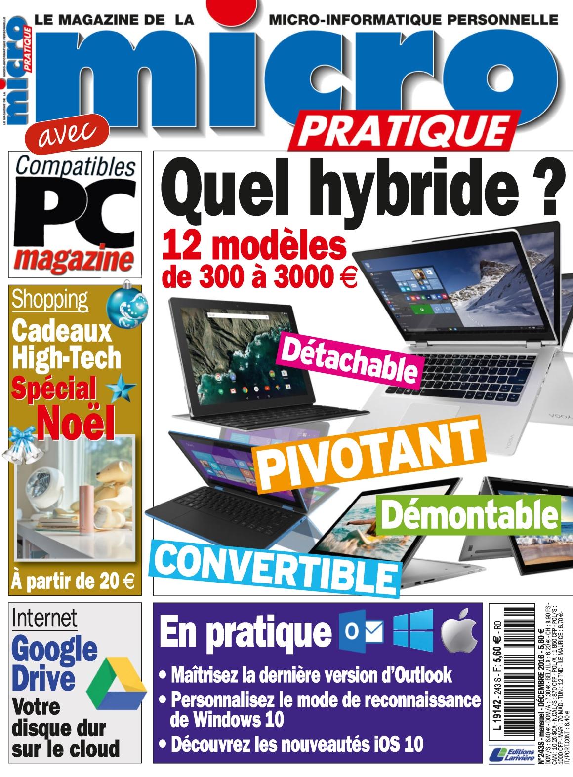 Micro Pratique 243 - Décembre 2016