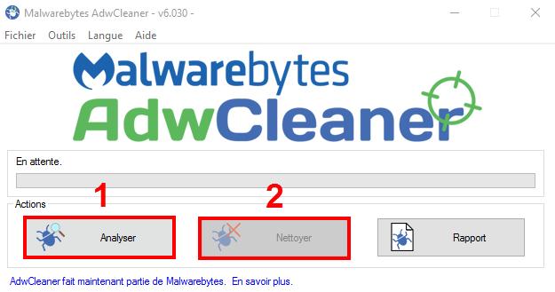 AdwCleaner Malwarebytes 1