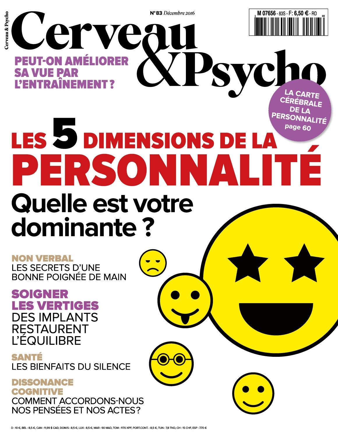 Cerveau & Psycho 83 - Décembre 2016
