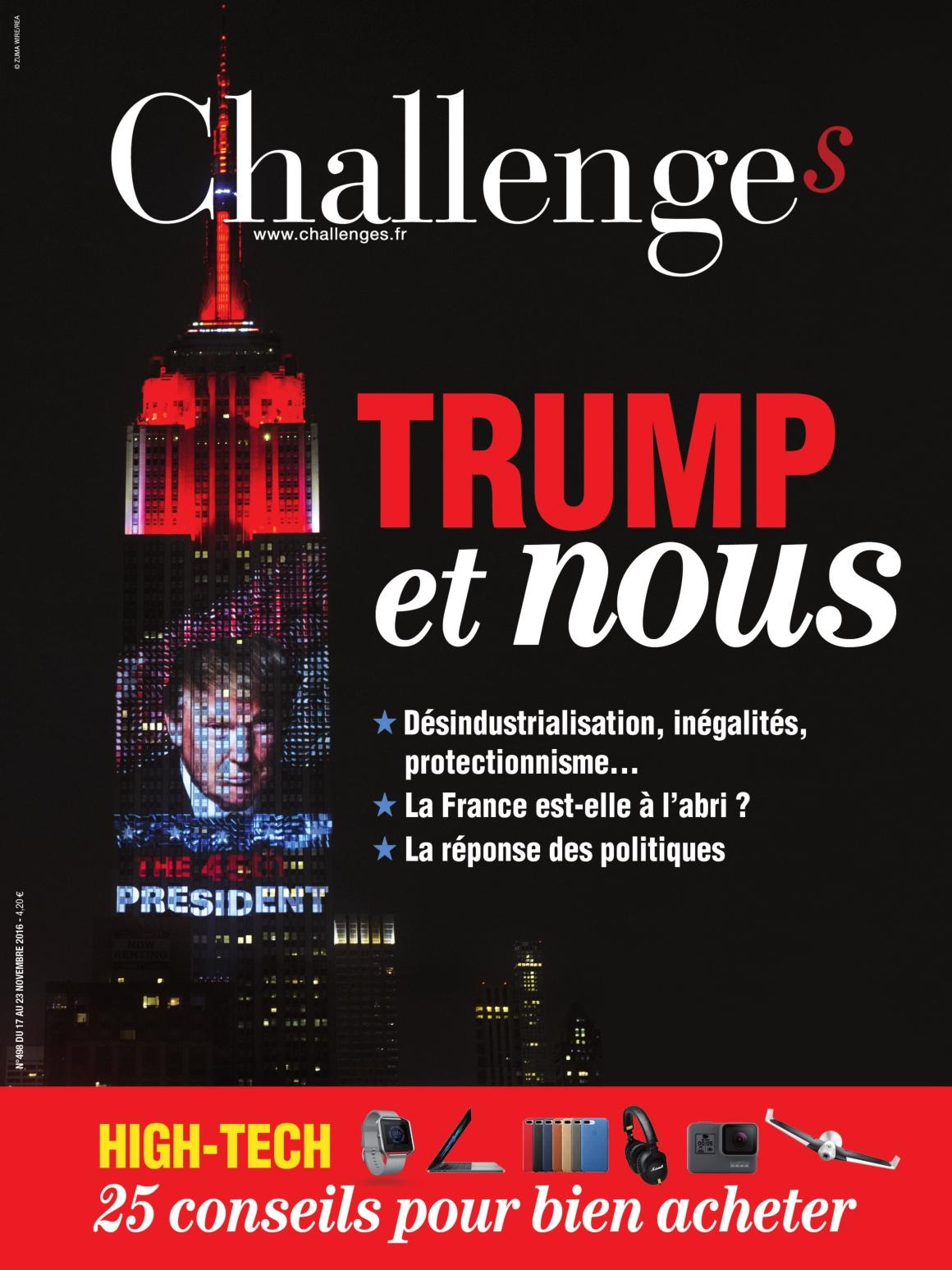 Challenges 498 - 17 au 23 Novembre 2016