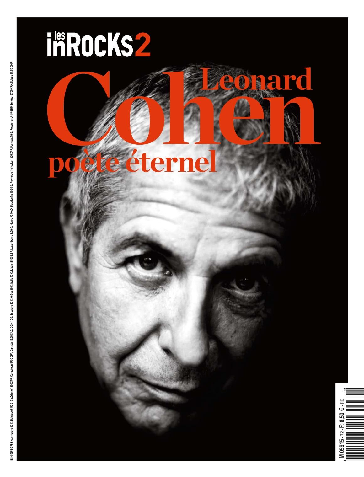 Les Inrocks 2 72 - Leonard Cohen 2016