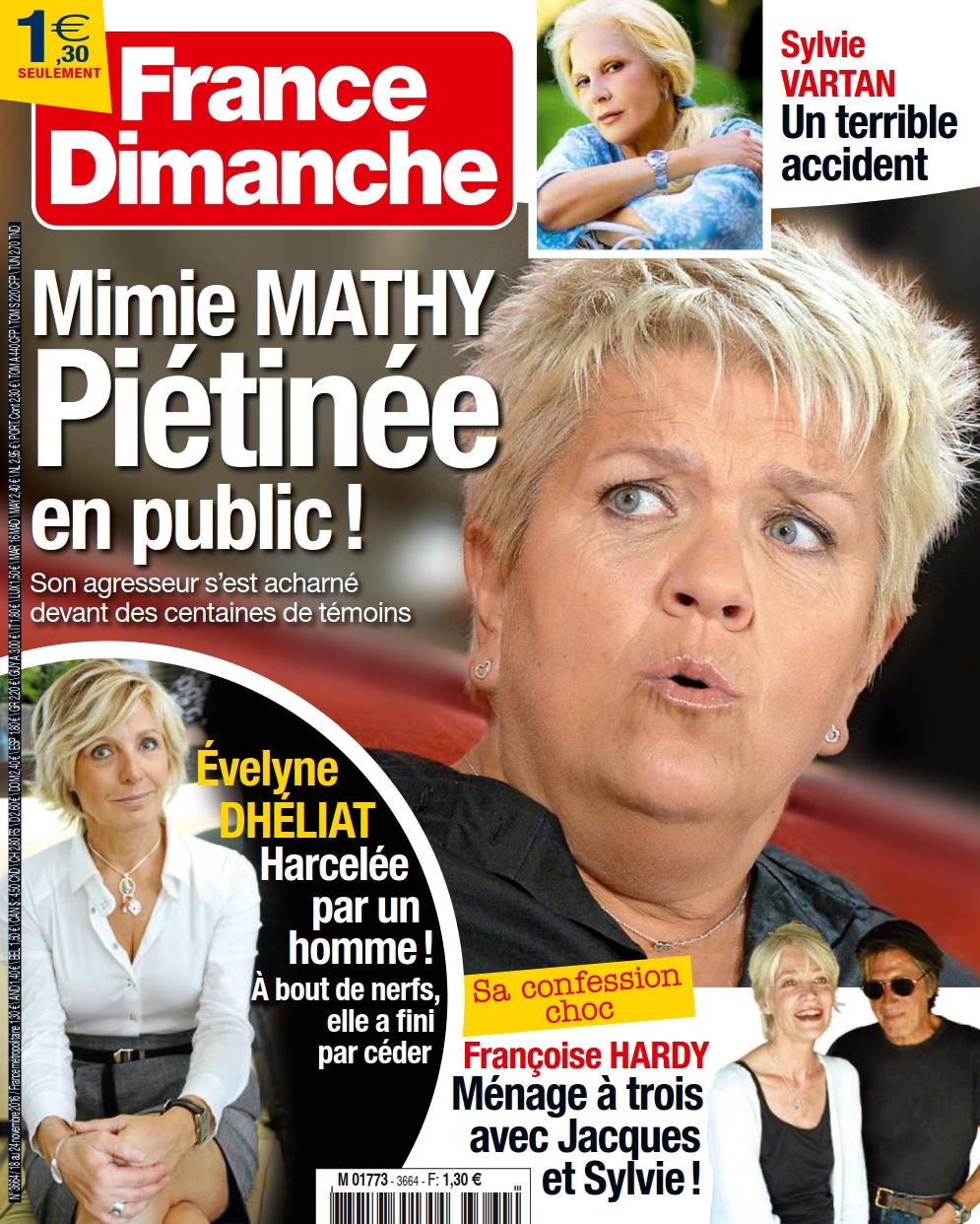 France Dimanche 3664 - 18 au 24 Novembre 2016