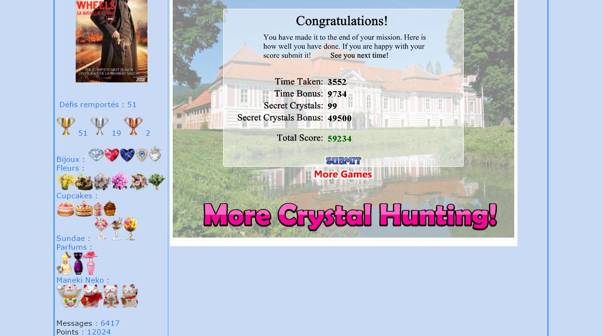 Crystal Hunter Maisons 161118054841141297