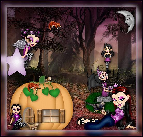 Magia en Halloween