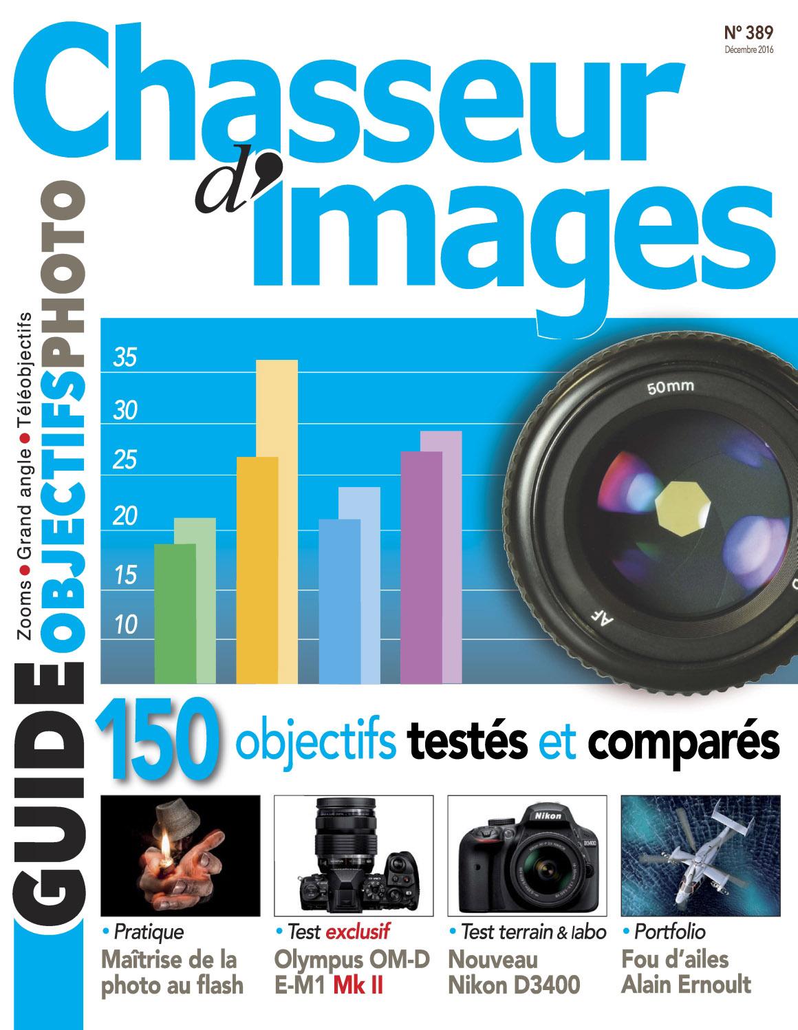 Chasseur d'Images N°389 - Décembre 2016