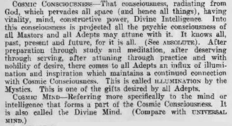 Concience cosmique