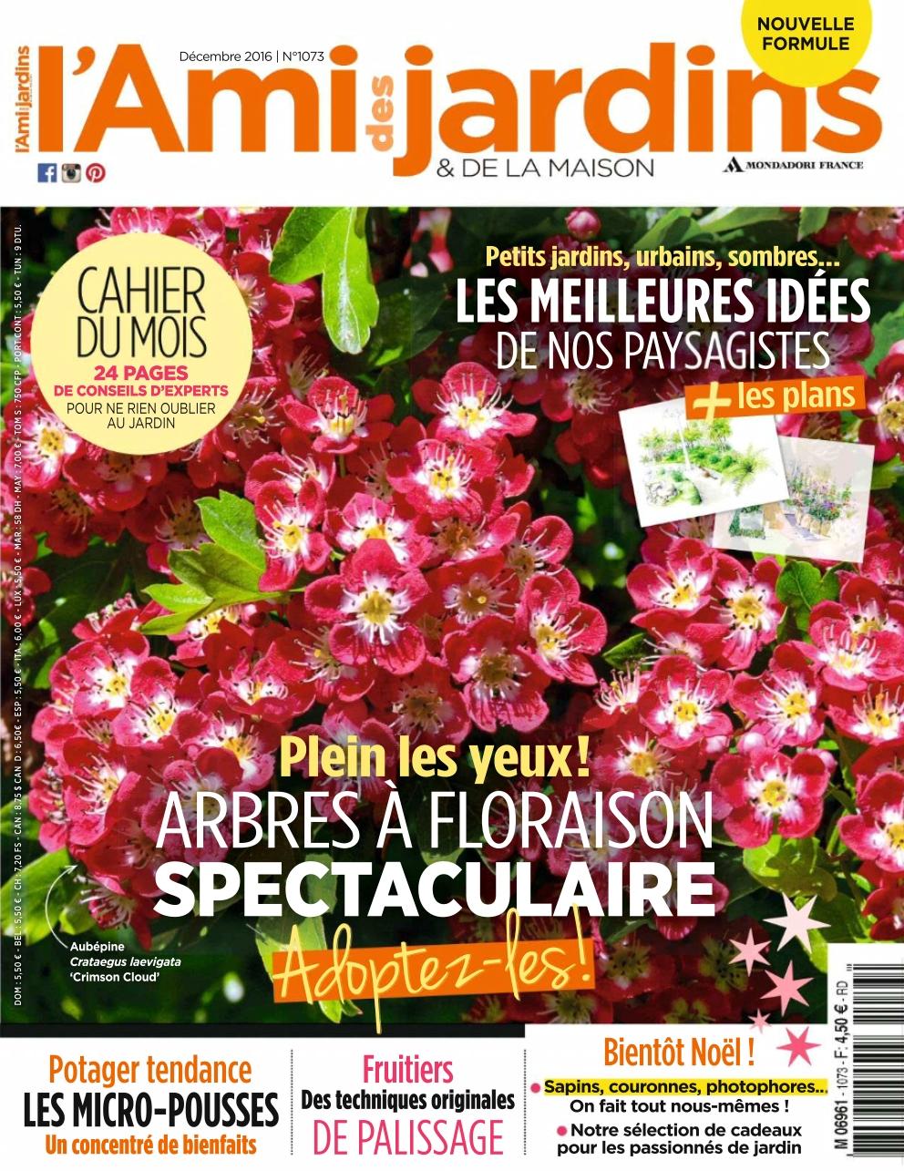 L'Ami des Jardins 1073 - Décembre 2016