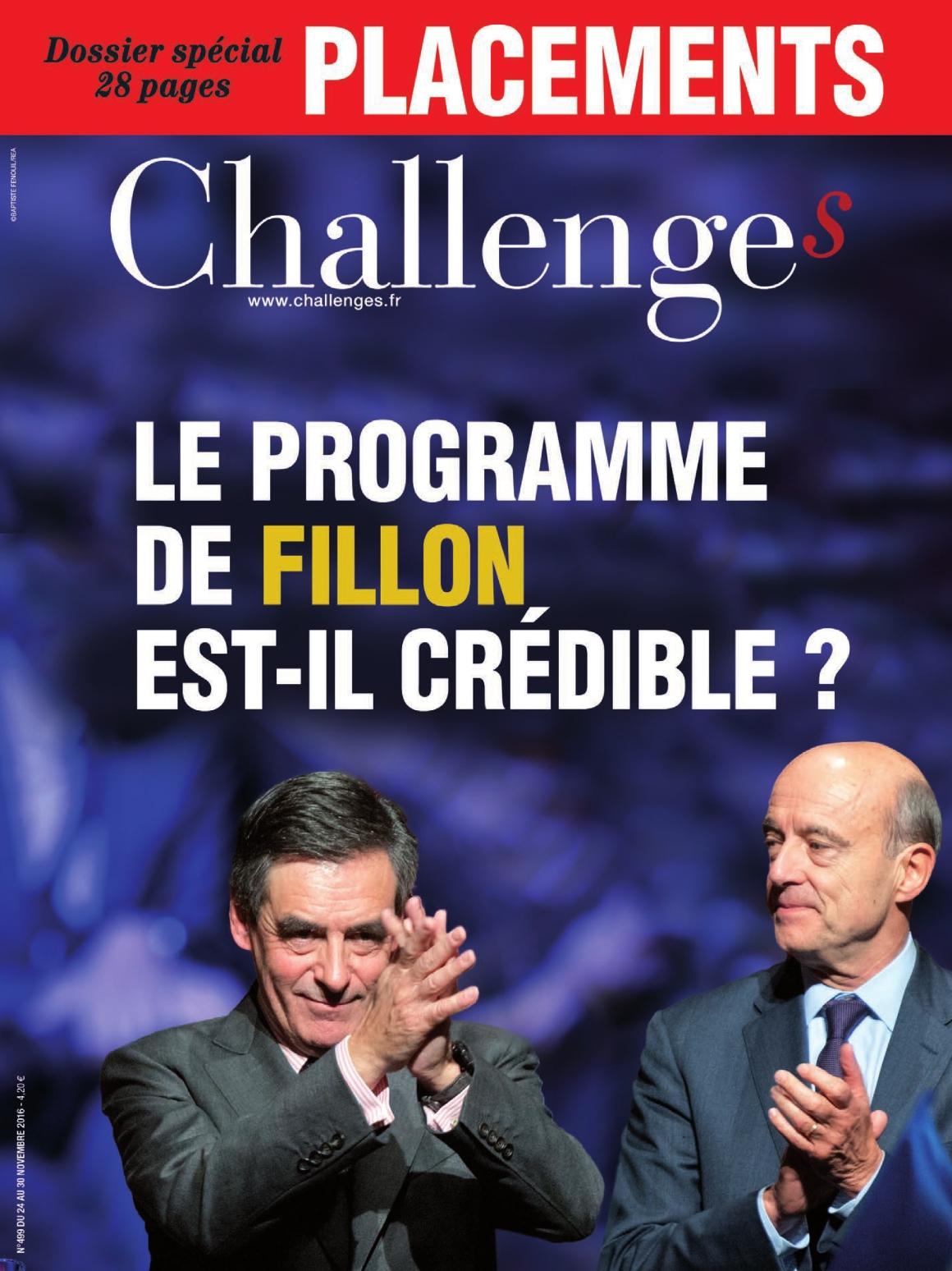 Challenges 499 - 24 au 30 Novembre 2016