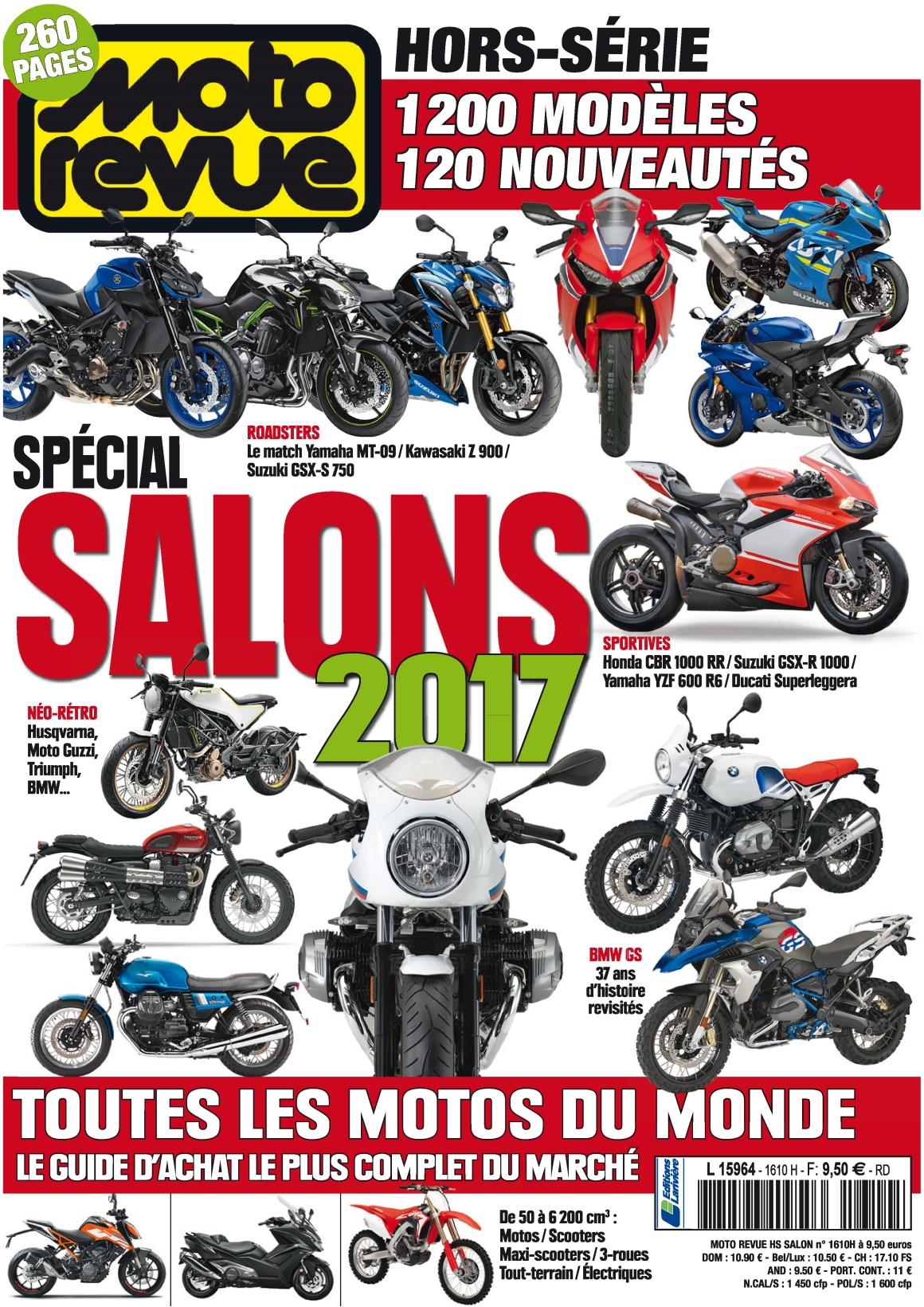 Moto Revue Hors-Série 42 - Salon 2017