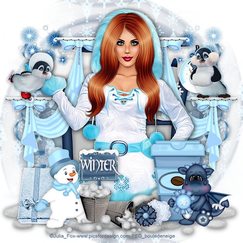tuto perso frosty days 2016