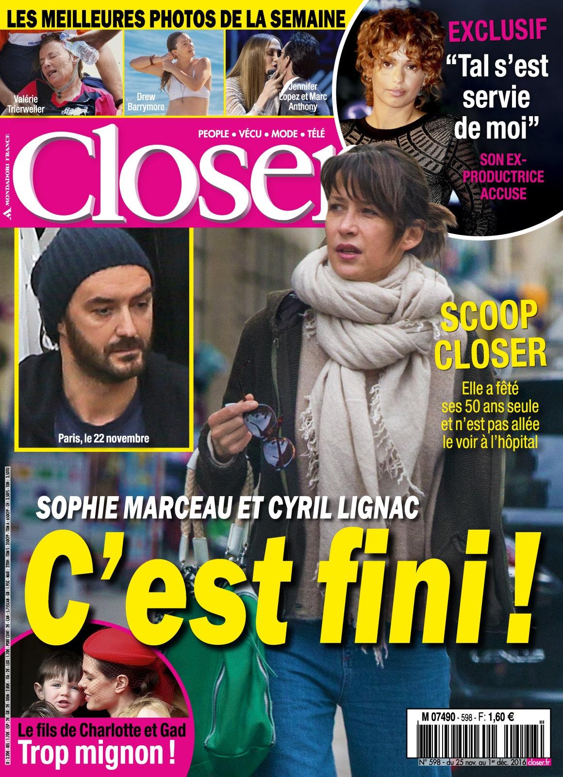 Closer 598 - 25 Novembre au 1 Décembre 2016
