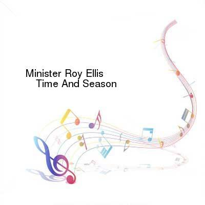 HDTV-X264 Download Links for Minister_Roy_Ellis-Time_And_Season-WEB-2016-JAH