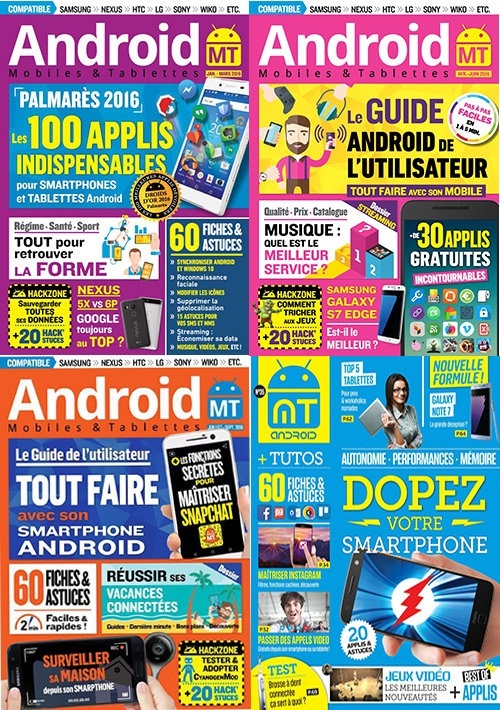Android Mobiles et Tablettes - Full Year 2016 Collection