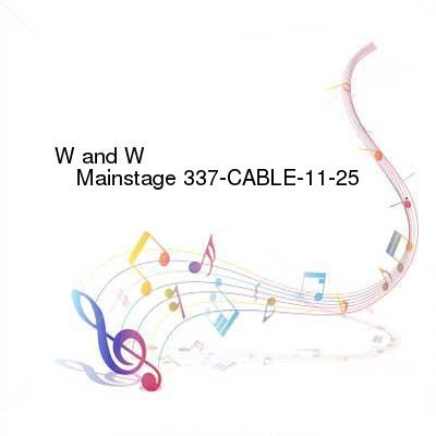 HDTV-X264 Download Links for W_and_W_-_Mainstage_337-CABLE-11-25-2016-TALiON