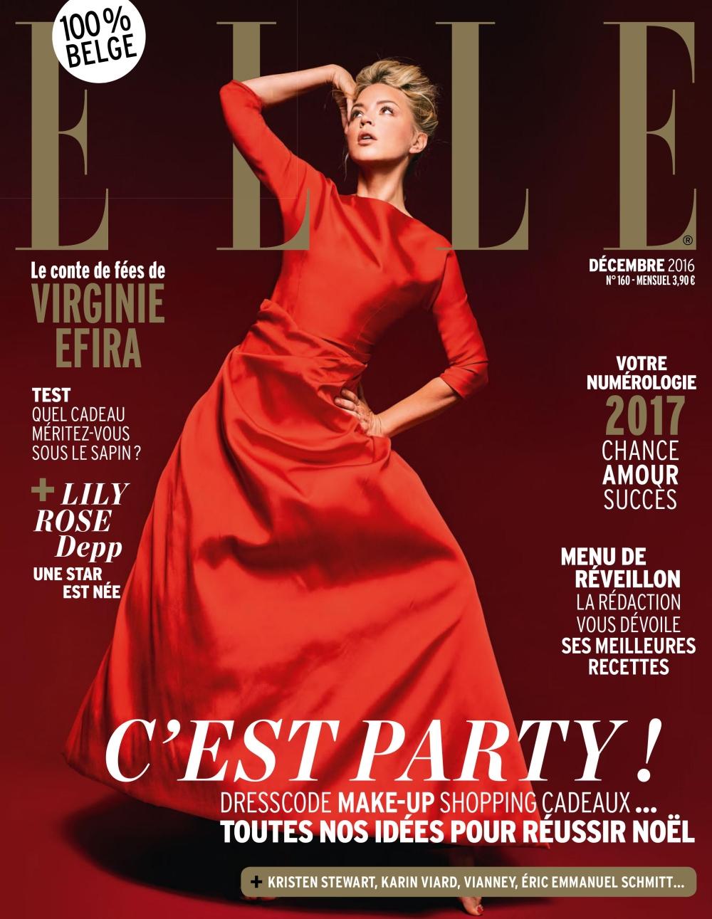 Elle Belgique 160 - Décembre 2016