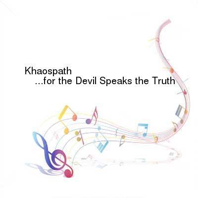 HDTV-X264 Download Links for Khaospath-for_the_Devil_Speaks_the_Truth-WEB-2016-ENTiTLED