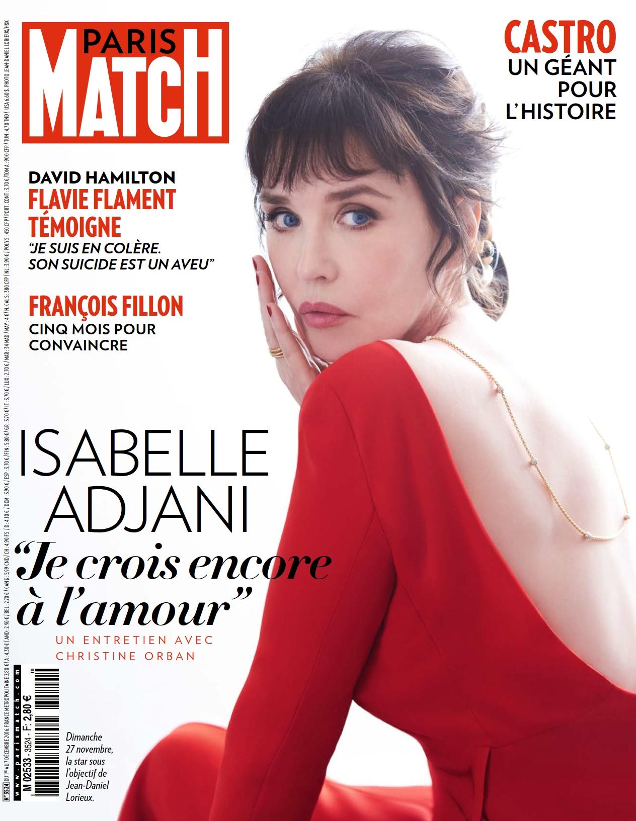 Paris Match 3524 - 1 au 7 Décembre 2016