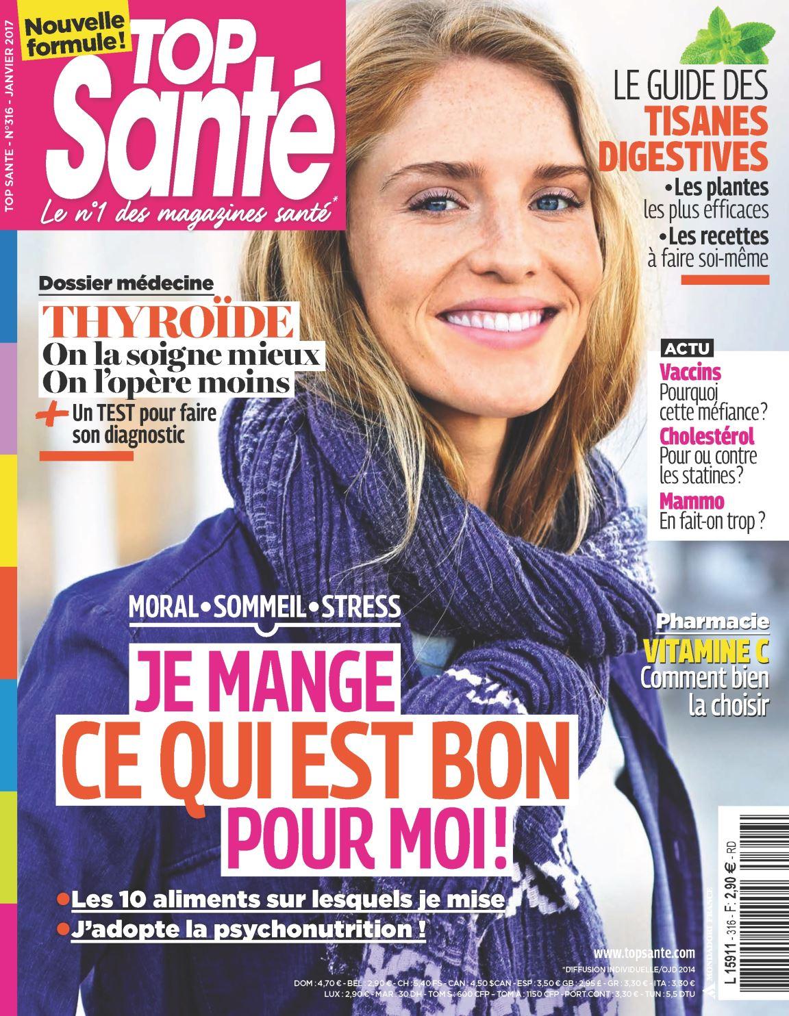 Top Santé 316 - Janvier 2017