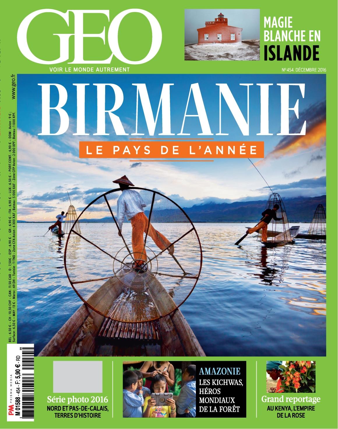 Geo 454 - Décembre 2016