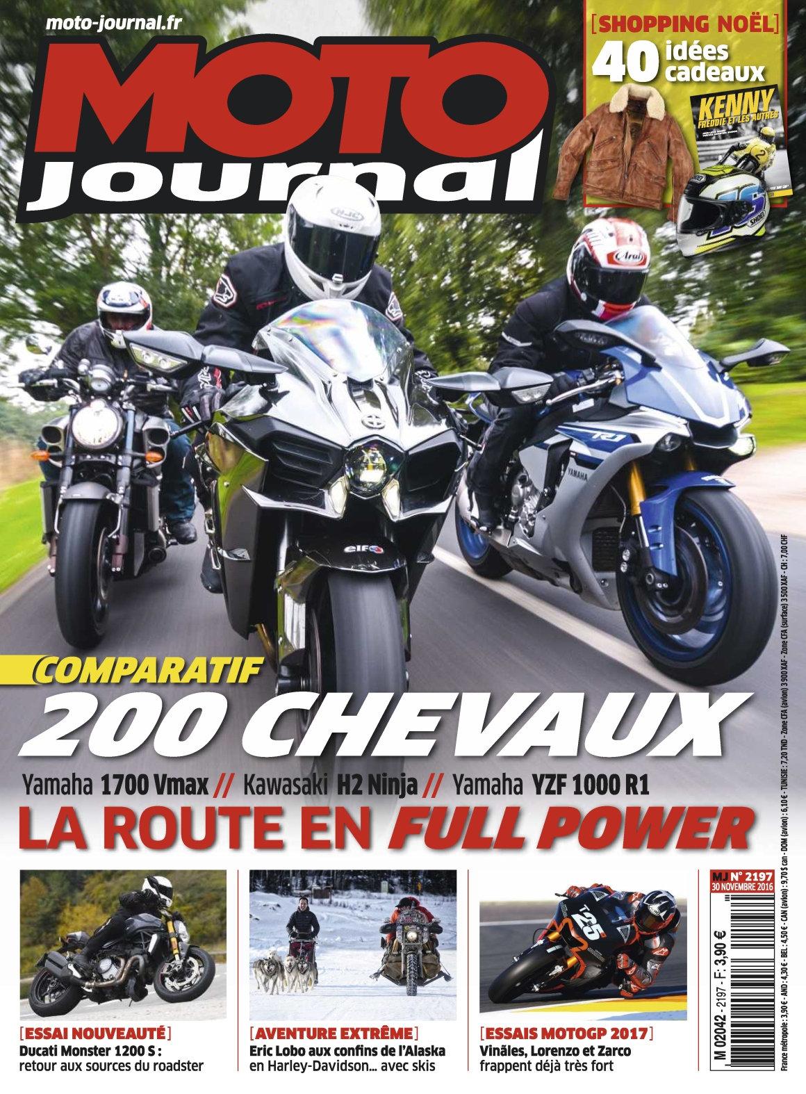 Moto Journal 2197 - 30 Novembre 2016