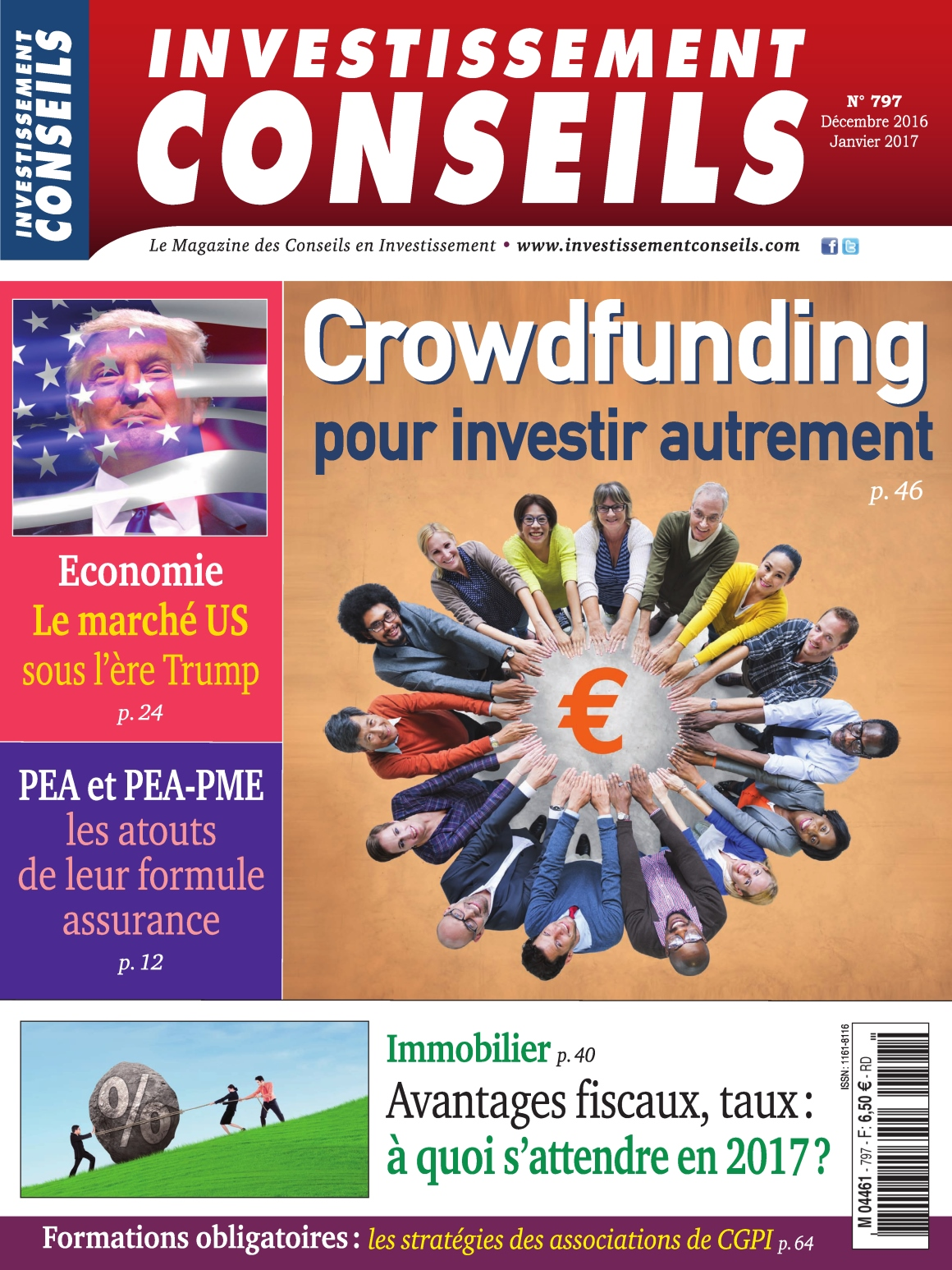 Investissement Conseils N°797 - Décembre 2016/Janvier 2017
