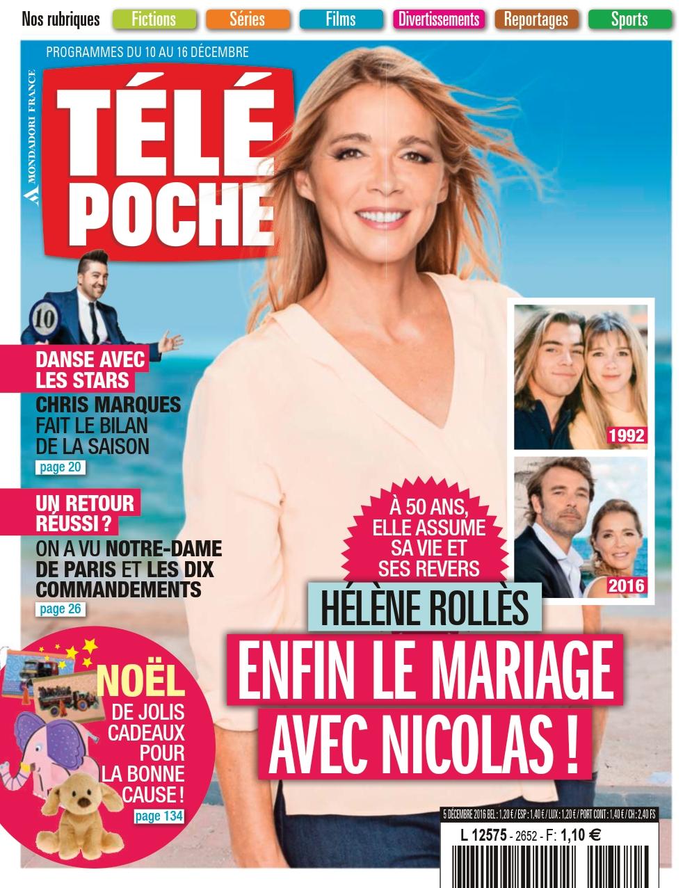 Télé Poche N°2652 - 10 au 16 Décembre 2016