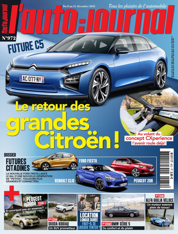 L'Auto-Journal N°972 - 8 au 21 Décembre 2016