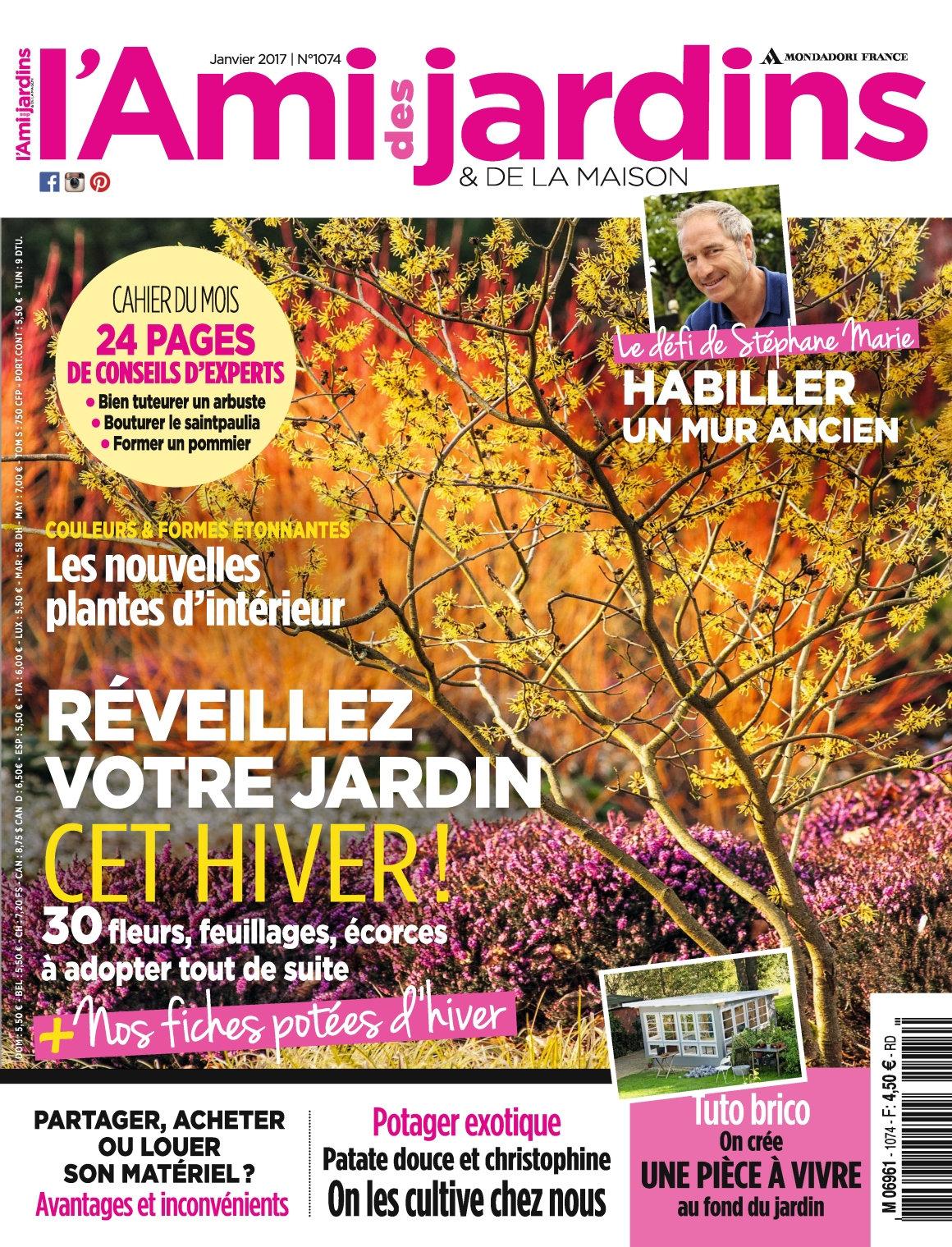 L'Ami des Jardins N°1074 - Janvier 2017