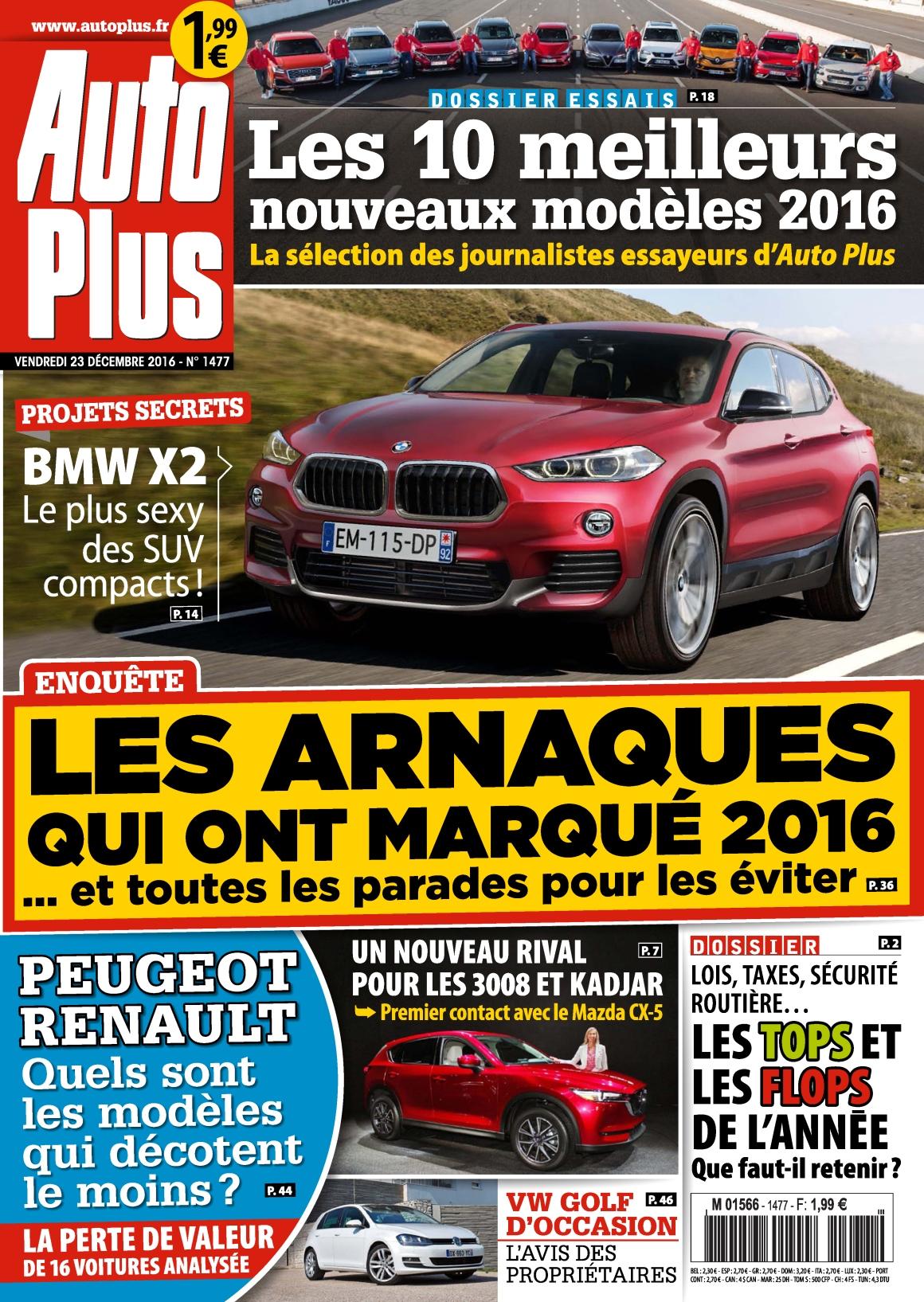 Auto Plus N°1477 - 23 au 29 Décembre 2016
